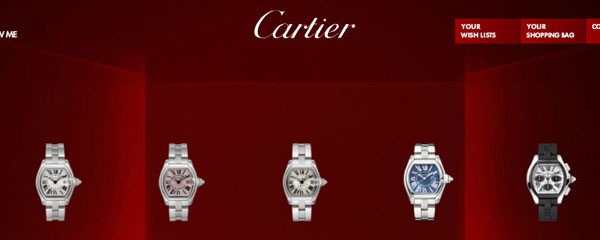 Cartier Roadster Modelos Genuinos No Réplica
