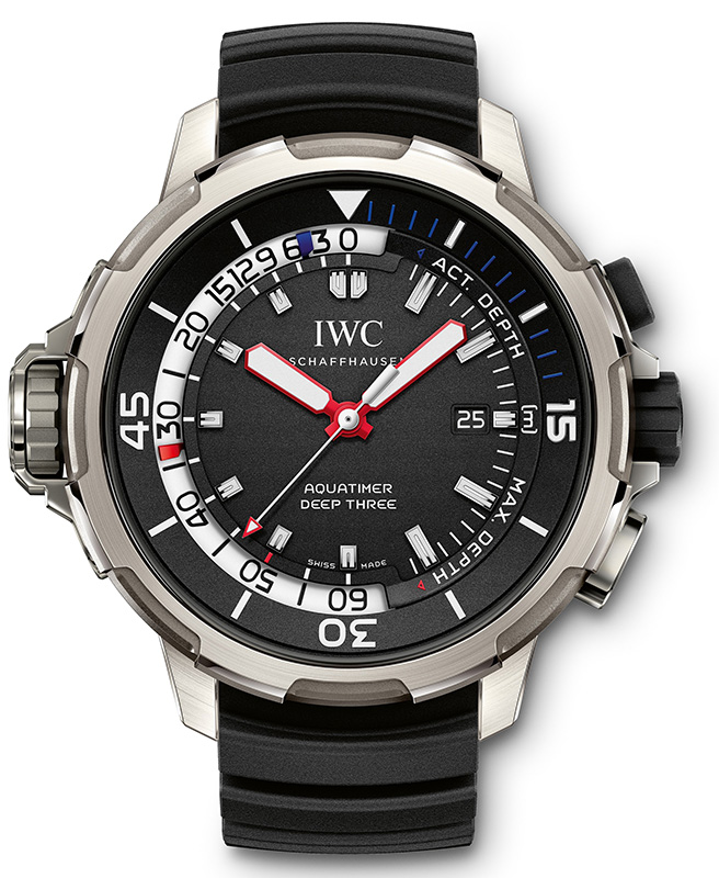 IWC Aquatimer Deep Three Réplica
