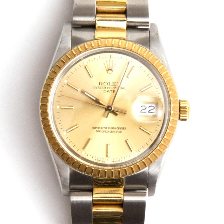 Rolex Oyster Perpetual Relojes Datejust 18k Reloj De Oro
