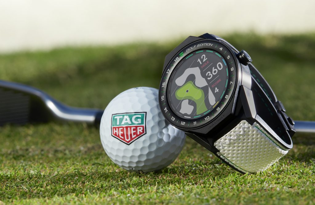 TAG Heuer Golf Connected Replica