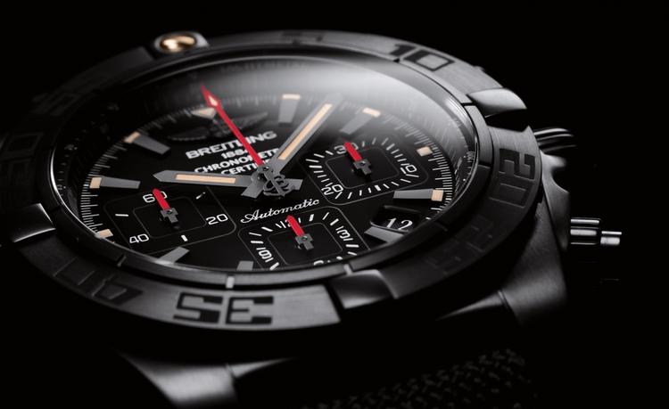 breitling chronomat 44 blacksteel relojes de imitacion