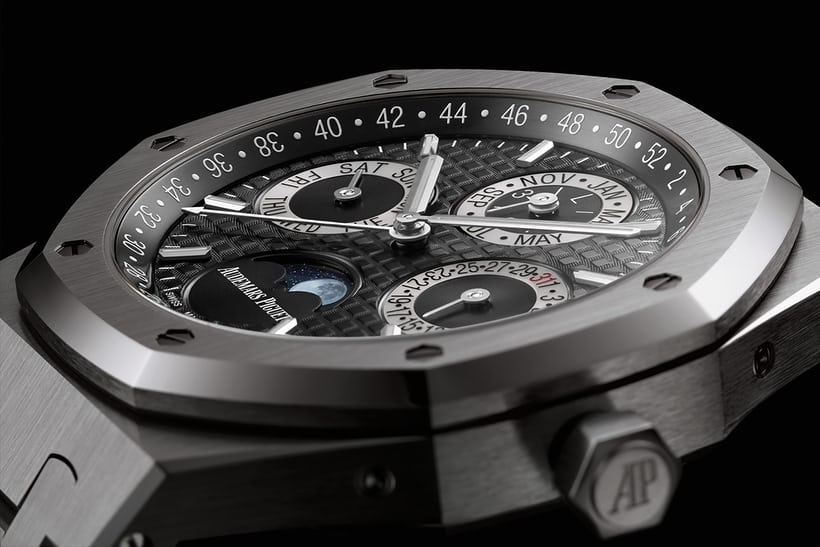 Audemars Piguet Royal Oak Perpetual Platino Replica