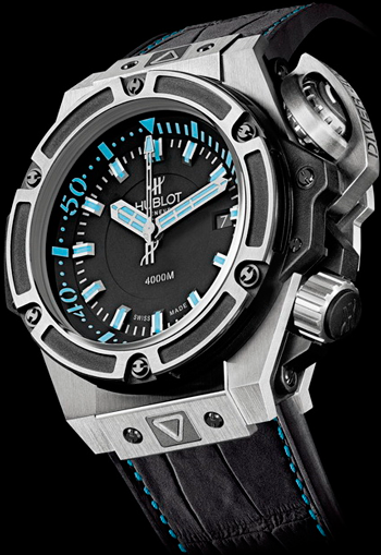 Imitacion Hublot King Power Oceanographic 4000 Caribbean